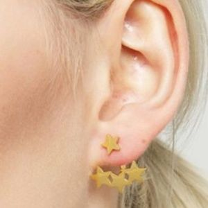 Unique Design//Cute Stars Set Earrings